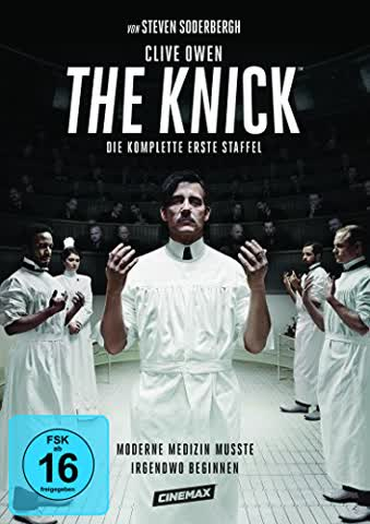 The Knick - Season 1 (FSK 16 Jahre) DVD