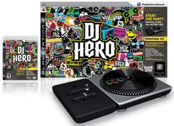 PS3 DJ Hero Bundle inkl. Turntable und Spiel