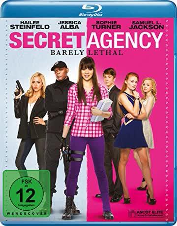 SECRET AGENCY -BD- - MOVIE [Blu-ray] [2015]