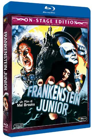 frankenstein junior (on stage edition) (blu-ray+dvd extra) blu_ray Italian Import