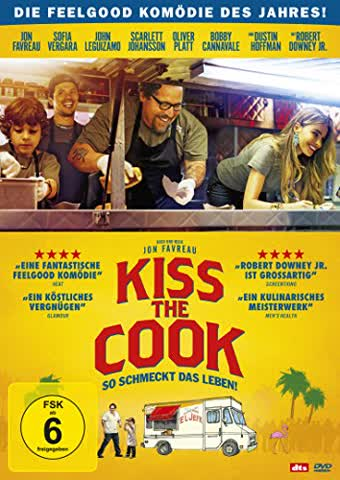 Kiss the Cook - So schmeckt das Leben! (FSK 6 Jahre) DVD
