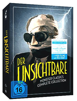 Der Unsichtbare - Monster Classics - Complete Collection (6 DVDs + 2 Blu-rays) [Limited Edition]