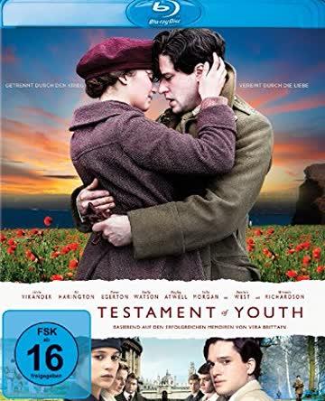 Testament Of Youth (BLU-RAY) - [2014] [Region A & B & C]