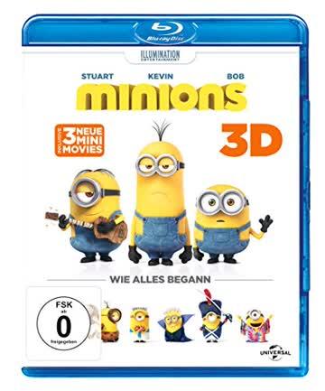 Minions [Blu-ray 3D + Blu-ray]