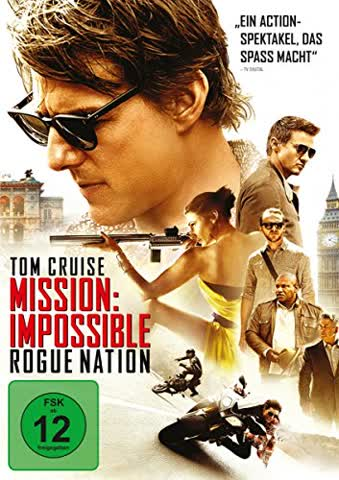 Mission: Impossible - Rogue Nation (FSK 12 Jahre) DVD