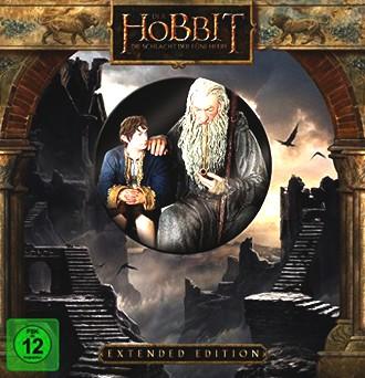 Der Hobbit 3 - Die Schlacht der fünf Heere - Extended/Sammler Edition [3D Blu-ray] [Limited Edition]