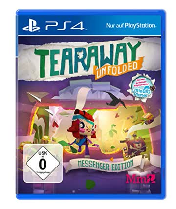 Tearaway: Unfolded - Messenger Edition (exklusiv bei Amazon.de) - [PlayStation 4]