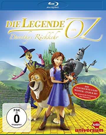 Die Legende von Oz - Dorothy's Rückkehr (inkl. 2D-Version) [3D Blu-ray]