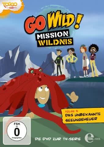 Go Wild! Mission Wildnis, Folge 005 - Das unbekannte Seeungeheuer