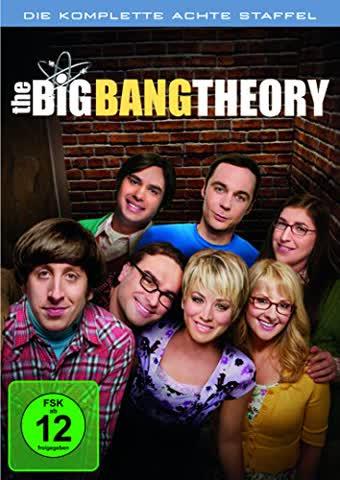 THE BIG BANG THEORY SEASON 8 - [DVD]