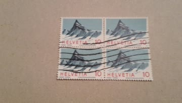 1966 Helvetia Viererblock Zs-Nr: 445