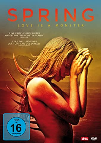 Spring - Love is a Monster (FSK 16 Jahre) DVD