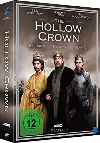 The Hollow Crown (Staffel 1 im 4 Disc Set) (Richard II/Henry IV/Henry V)