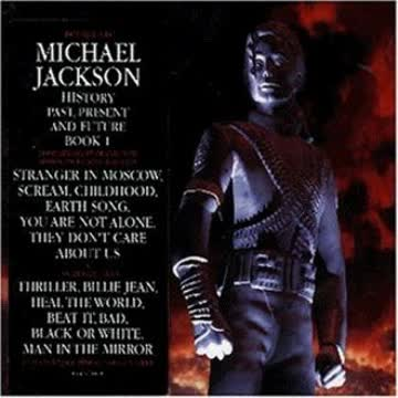 Michael Jackson - HIStory - Past, Present and Future Book 1
