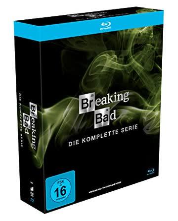 BREAKING BAD (KOMPLETTE SERIE) [Blu-ray]