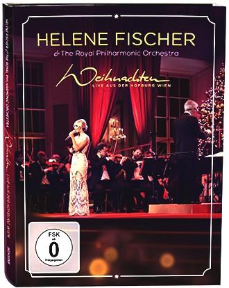 Helene Fischer - Weihnachten - Live aus der Hofburg Wien (DVD, mit dem Royal Philharmonic Orchestra)