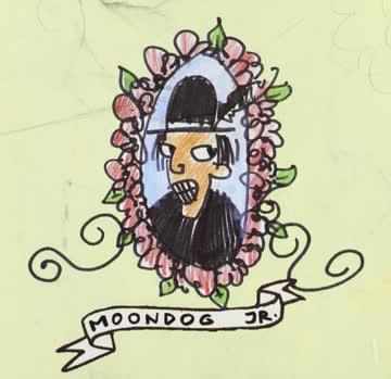 Moondog Jr. - Everyday I wear a greasy black Feather on my Hat