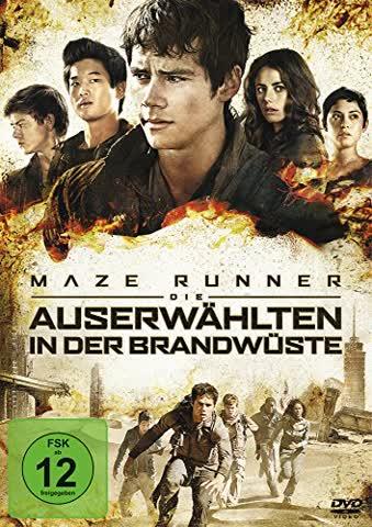 MAZE RUNNER 2 - DIE AUSERWHLT [DVD] [2015]
