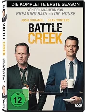 Battle Creek - Die komplette erste Season [3 DVDs]