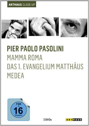 Pier Paolo Pasolini - Arthaus Close Up [3 DVDs]
