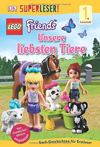 SUPERLESER! LEGO® FRIENDS Unsere liebsten Tiere: 1. Lesestufe Sach-Geschichten für Leseanfänger