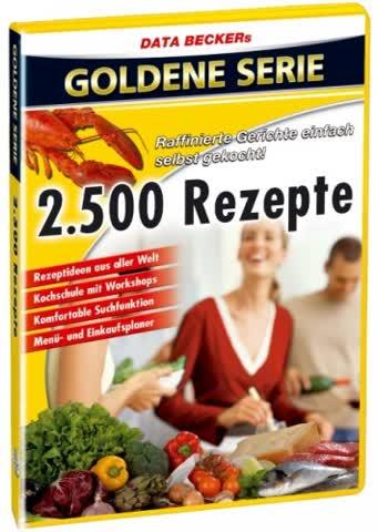2500 Rezepte