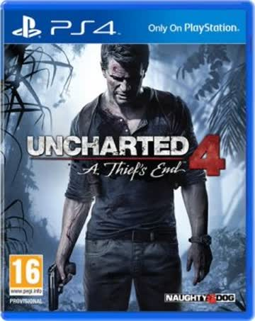 Uncharted 4: A Thief's End [AT-PEGI] (PS4)