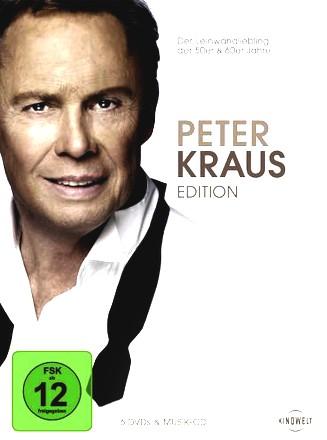 Peter Kraus Edition (+ Audio-CD) [6 DVDs]