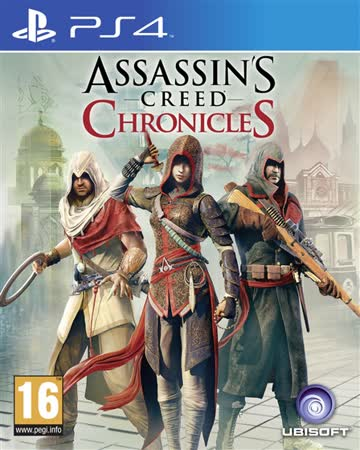 Assassin's Creed Chronicles Trilogie [AT-PEGI]