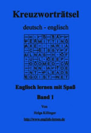 Englisch lernen mit Spass: Kreuzworträtsel deutsch-englisch