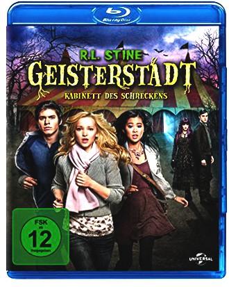 R.L. Stine's - Geisterstadt - Kabinett des Schreckens [Blu-ray]