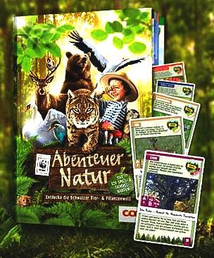 Abenteuer Natur, Entdecke die Schweizer Tier- & Pflanzenwelt