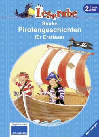 Leserabe - Sonderausgaben: Starke Piratengeschichten für Erstleser