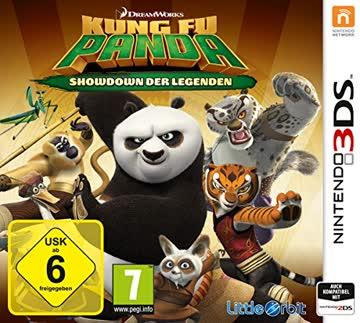 Kung Fu Panda - Showdown der Legenden - [Nintendo 3DS]