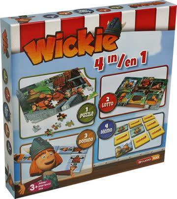 Wickie und die starken Männer, 4-in-1 Spielebox