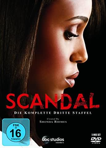 Scandal - Die komplette dritte Staffel [5 DVDs]