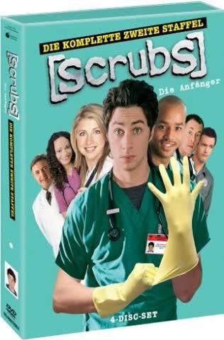 Scrubs: Die Anfänger - Die komplette zweite Staffel [4 DVDs]