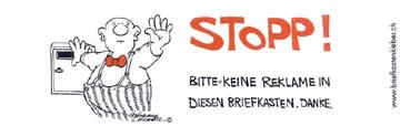Briefkasten Aufkleber Stopp Keine Reklame Gunstig Gebraucht