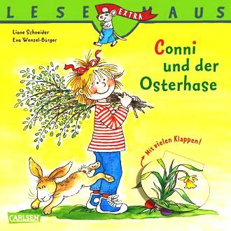 LESEMAUS, Band 15: Conni und der Osterhase: Sonderausgabe mit vielen lustigen Klappen