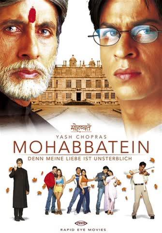 Mohabbatein - Denn meine Liebe ist unsterblich [2 DVDs]