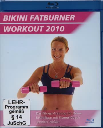 Bikini Fatburner Workout 2010 - Blu-ray