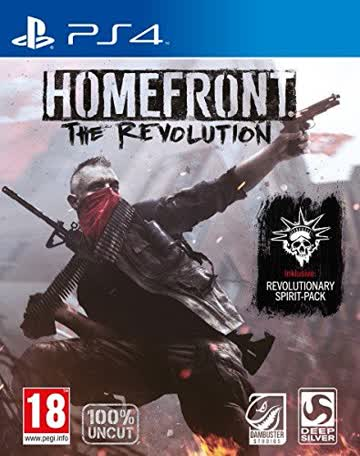 Homefront: The Revolution Day One Edition (PS4) (PEGI)