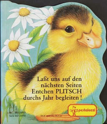 Tier- Bilderbücher mit Konturenstanzung. 6 Expl. a DM 8.-