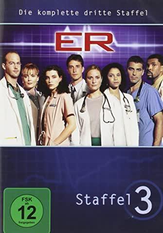 ER - Emergency Room, Staffel 03 [7 DVDs]