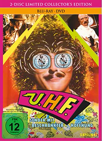 UHF - Sender mit beschränkter Hoffnung (2-Disc Limited Collector's Edition) [Blu-ray] [Limited Edition]