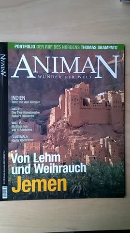 Reisemagazin ANIMAN Jemen