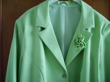 Blazer lindengrün, neu, Gr. 46