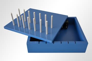 "Bridge94 Holz-Ladestation ""Color"" für iPhone, iPad, Samsung"