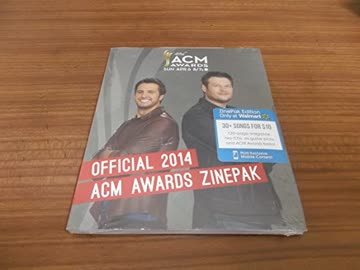 ACM AWARDS 2014 - OFFICIAL 2014 ACM AWARDS 2-CD Zinepak Edition WALMART EXCLUSIVE Taylor Swift Rascal Flatts etc etc