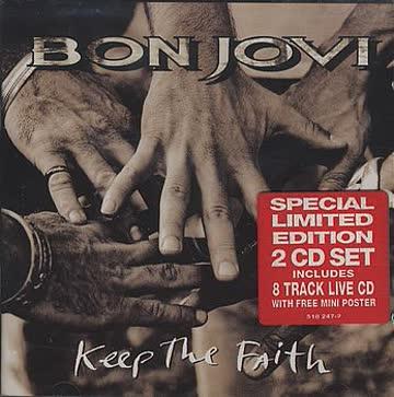 Bon Jovi - Keep the faith (+8 track live-CD)
